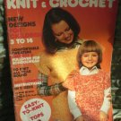 Mon Tricot Knit and Crochet MD23 MD 23 1975 American