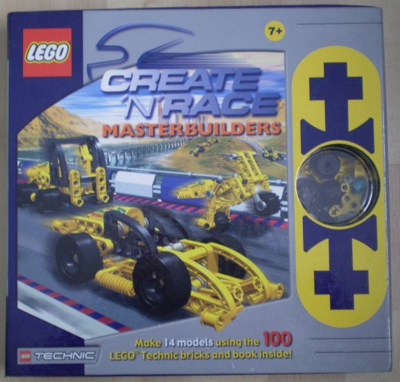 Lego Technic Master Builders Create n Race Masterbuilders 3057