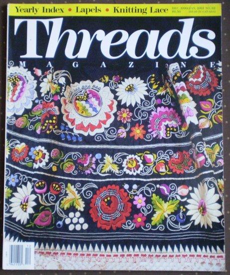 Threads Magazine December 1990 January 1991 No 32 Taunton