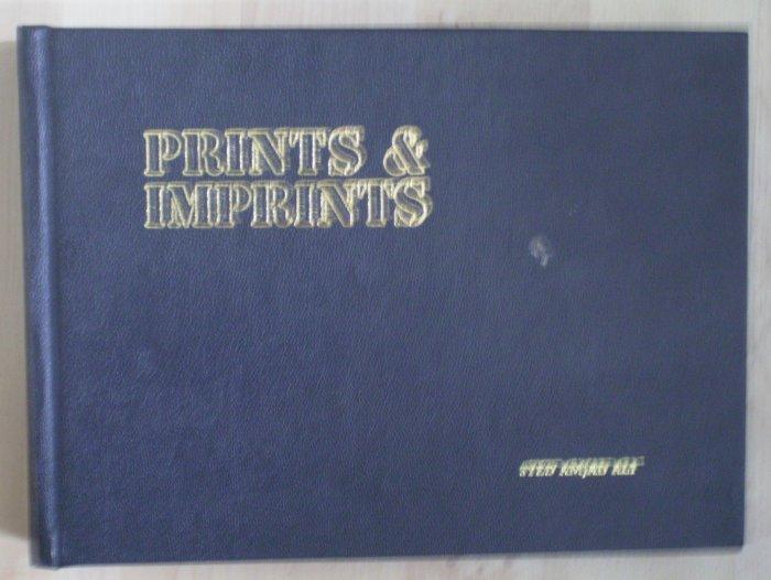Prints & Imprints Syed Amjad Ali 1983 Hardcover Book Signed