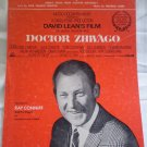 Somewhere My Love Sheet Music Doctor Zhivago Maurice Jarre Webster