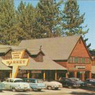 Zephyr Cove Lodge Market Lake NV Burto Frasher Tahoe vintage postcard