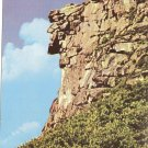 Old Man of the Mountains NH Franconia Notch vintage postcard