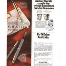 Sheaffer Expressions Silver Imperial Pen 1971 vintage