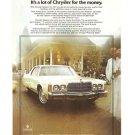 Chrysler Newport 1977 Car Automobile Vintage Ad