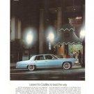 Cadillac Coupe deVille Fleetwood Brougham 1977 Car Automobile Vintage Ad