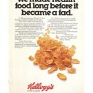 Kelloggs Corn Flakes Cereal 1977 Vintage Ad