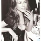 Glaceau Smart Water Jennifer Aniston Dinner 2007 2-page Ad