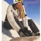 Izod Perform X Womenswear Snowboarder 2007 2-page Ad
