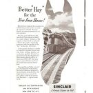 Sinclair Oil Corporation Iron Horse Vintage Ad 1952