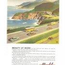 Budd Company Philadelphia Railraod Automobile Vintage Ad 1952