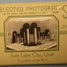 Salt Lake City Utah Photograph Souvenir Album 1949
