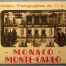 Monaco Monte Carlo Photograph Souvenir Folder d'Art Munier Montluet Succ