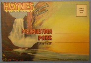 Yellowstone National Park Series B Haynes Souvenir Folder Photograph