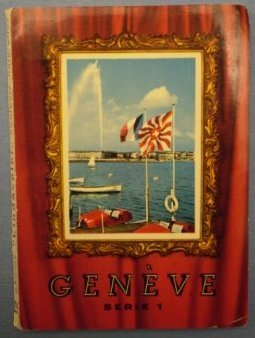 Geneve Serie 1 Lindacolor Souvenir Folder Photographs Sartori Switzerland