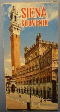 Siena Souvenir Folder Photographs Romboni Vintage Italy