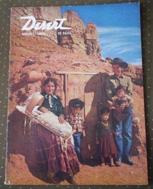 Desert Magazine August 1956 Volume 19 No 8 Vintage