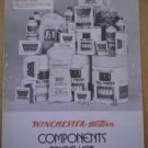 Winchester Western Components Price List 1975 Catalog Brochure