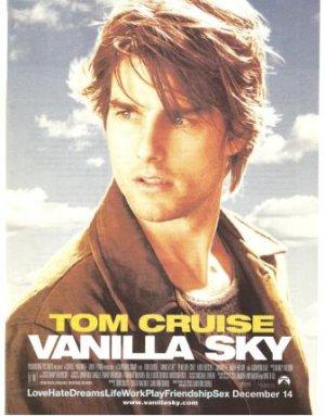 Vanilla Sky 2001 Ad Tom Cruise 8 X 10 5 Original
