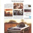 Chrysler Imperial 1973 Car Vintage Ad 1972