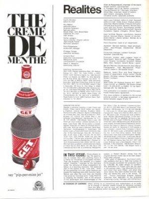Pippermint Get Creme De Menthe Vintage Ad 1972