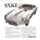 Jaguar XKE E-Type Vintage Ad 1968