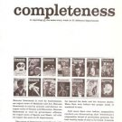 Newsweek Magazine Completeness Vintage Ad 1965