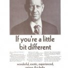 Air India If You're A Little Bit Different Vintage Ad 1967