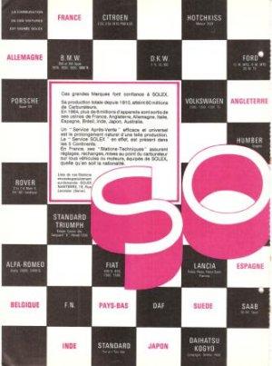 Solex Carburetor Racing French 2-page Vintage Ad 1965