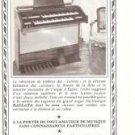 G Becker Organ French Vintage Ad 1965