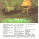 Pathe Marconi VSM 915 Radio French Vintage Ad 1965