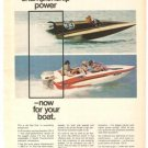 Evinrude Outboards Boat Starflite 125-S Vintage Ad 1971
