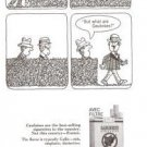 Gauloises Cigarette Filter Vintage Ad 1966