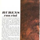 Reubens Run Riot 8p Article 1965 Souren Melikian