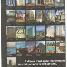 Western International Hotels 3-page Vintage Ad 1978
