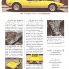 de Tomaso Pantera Ford Lincoln Mercury Vintage Ad June 1971