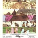 Garuda Indonesian Airways Vintage Ad May 1966 French