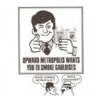 Upward Metropolis Smoke Gauloises Cigarettes Vintage Ad June 1969