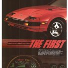 Nissan 300 ZX Major Motion 2-page Vintage Ad 1984 Olympic Games