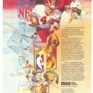 Mohawl Data Sciences Qantel Business Computers MDS Vintage Ad 1984 Olympic Games