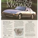 Mazda RX-7 Sports Car Vintage Ad 1984 Olympic Games