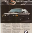 BMW Luxury Car 733i Vintage Ad 1984 Olympic Games