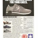 Converse First Running Shoes Stabilizer-Bar Knees Vintage Ad 1984 Olympic Games