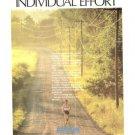 Epson Individual Effort Runner Vintage Ad 1984 Olympics