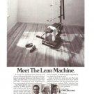 Lean Machine Inertia Dynamics Corp Exercise Machine Vintage Ad 1984 Olympics