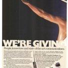 Motorola Dyna TAC Cellular Mostar  Expo Optrx 2-page Vintage Ad 1984 Olympics