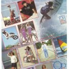 OP Ocean Pacific Pro Surfing Championship Vintage Ad 1984 Olympics