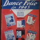 GEM Dance Folio 1943 Elmer Hughes Songbook Sheet Music