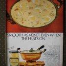 Kraft Mayonnaise Ham Egg Combo Vintage Ad 1968