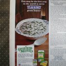 Green Beans Flav R Pac Superb 1968 Vintage Ad